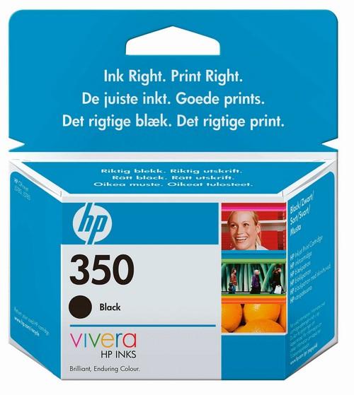 Cartus HP 350 Negru